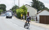 The Cyclist Matteo Trentin - Tour de France 2014 — Stock Photo