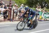 The Cyclist Ruben Plaza Molina - Tour de France 2014 — Stok fotoğraf