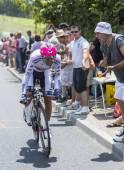 De wielrenner Nelson Oliveira - Tour de France 2014 — Stockfoto