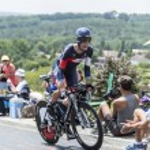 The Cyclist Sebastien Reichenbach - Tour de France 2014 — Stock Photo #73826465