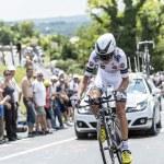 The Cyclist Anthony Delaplace - Tour de France 2014 — Stock Photo #73826475
