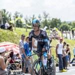 The Cyclist Vasili Kiryienka - Tour de France 2014 — Stock Photo #73826535