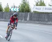 The Cyclist Michael Schar - Tour de France 2014 — Stock Photo