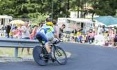 The Cyclist Nicolas Roche - Tour de France 2014 — Stock Photo