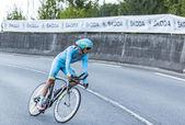 De wielrenner jakob fuglsang - tour de france 2014 — Stockfoto
