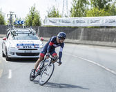 The Cyclist Marcel Wyss - Tour de France 2014 — Stock Photo