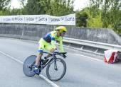 The Cyclist Michael Rogers - Tour de France 2014 — Stock Photo