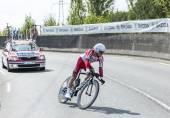The Cyclist Yury Trofimov - Tour de France 2014 — Stock Photo