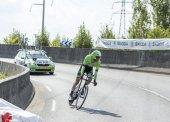 The Cyclist Laurens Ten Dam - Tour de France 2014 — Stock Photo