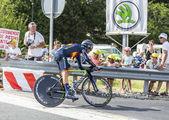 The Cyclist Alejandro Valverde- Tour de France 2014 — Stockfoto