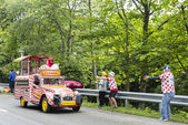 Cochonou Vehicle- Tour de France 2014 — Stockfoto
