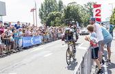 The Cyclist Daniel Teklehaimanot - Tour de France 2015 — Stock Photo