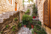 Street in Dubrovnik. Croatia. — Stock Photo