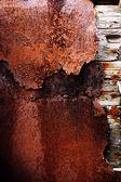 ржавый старый металл — Стоковое фото