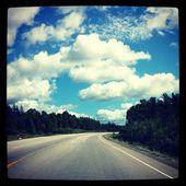 извилистая дорога — Стоковое фото