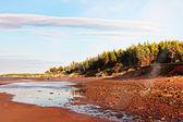 Pôr do sol na praia — Foto Stock
