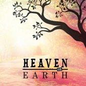 Text  heaven on earth — Stock Photo