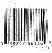 Bar Code, black and white — Stock Vector