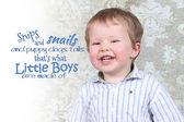 Little boy posing in studio — Stock Photo