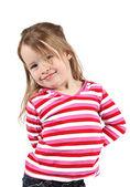 Adorable little girl — Stock Photo