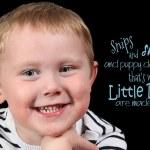 Cute little boy smiling — Stock Photo #53162723