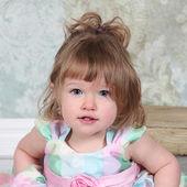 Beautiful Little Girl wearing dress — Stock Photo