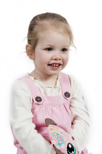 Adorable little girl smiling — Stock Photo