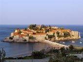 Respectable Resort Island Of Sveti Stefan — Stock Photo