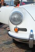 White retro muscle car  — Stock Photo