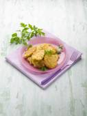 Rice croquette with parsley — Stock Photo
