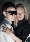 Young fashion couple in love — Stock Photo