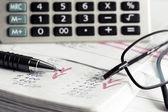 Contabilità finanziaria — Foto Stock