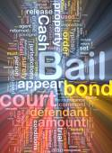 Bail background concept illustration glowing — Stock Photo