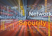Network security background concept glowing — Stock Photo