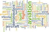 Aviation background concept — Stock Photo