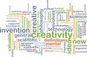 Creativity background concept — Stock Photo