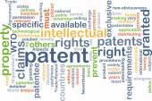 Patent background concept — Stock Photo