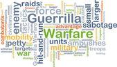 Guerrilla warfare background concept — Stock Photo