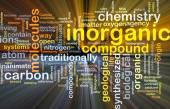 Inorganic background concept glowing — Stock Photo