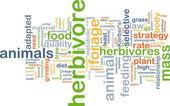 Herbivore background concept — Stock Photo