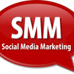 SMM acronym word speech bubble illustration — Stock Photo #73341191