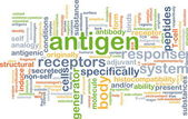 Antigen background concept — Stock Photo