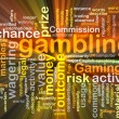 Gambling background concept glowing — Stock Photo #76412825