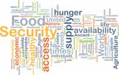 Food security background concept — Stock Photo