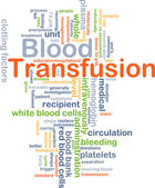 Blood transfusion background concept — Stock Photo