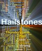 Hailstones background concept glowing — Stock Photo