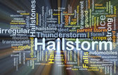 Hailstorm background concept glowing — Stock Photo