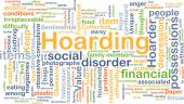Hoarding background concept — Stock Photo