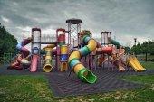 Deserted playground — Stock Photo