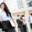 Attractive Young Businesswoman — Stock Photo #56716451